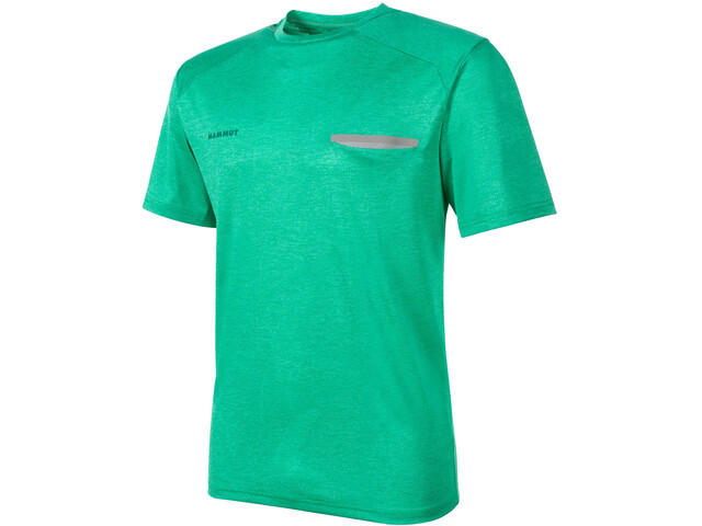 Mammut Crashiano T-Shirt Heren, light emerald melange